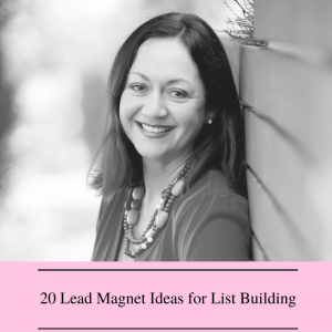 20 Lead Magnet Ideas, free content marketing resource